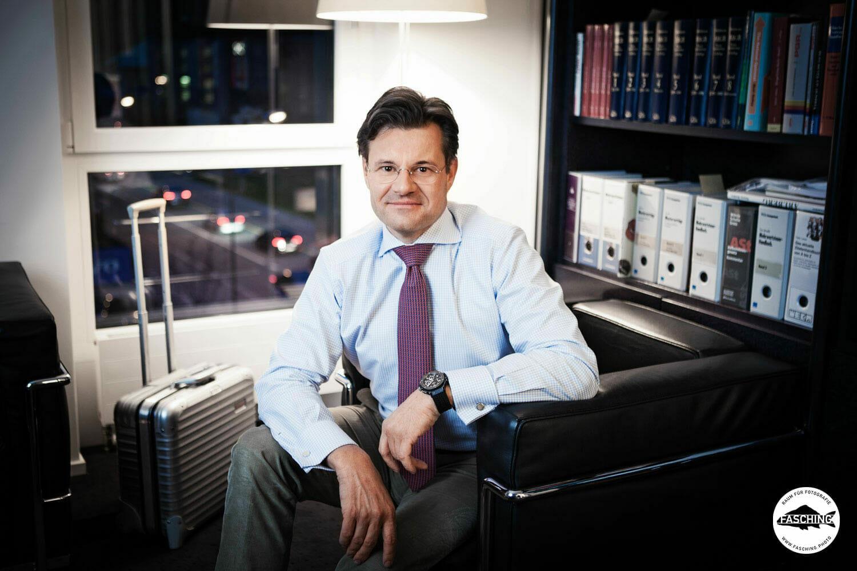 Fotograf Reinhard Fasching fotografierte die Businessportraits der Lichtensteiner IMT Group