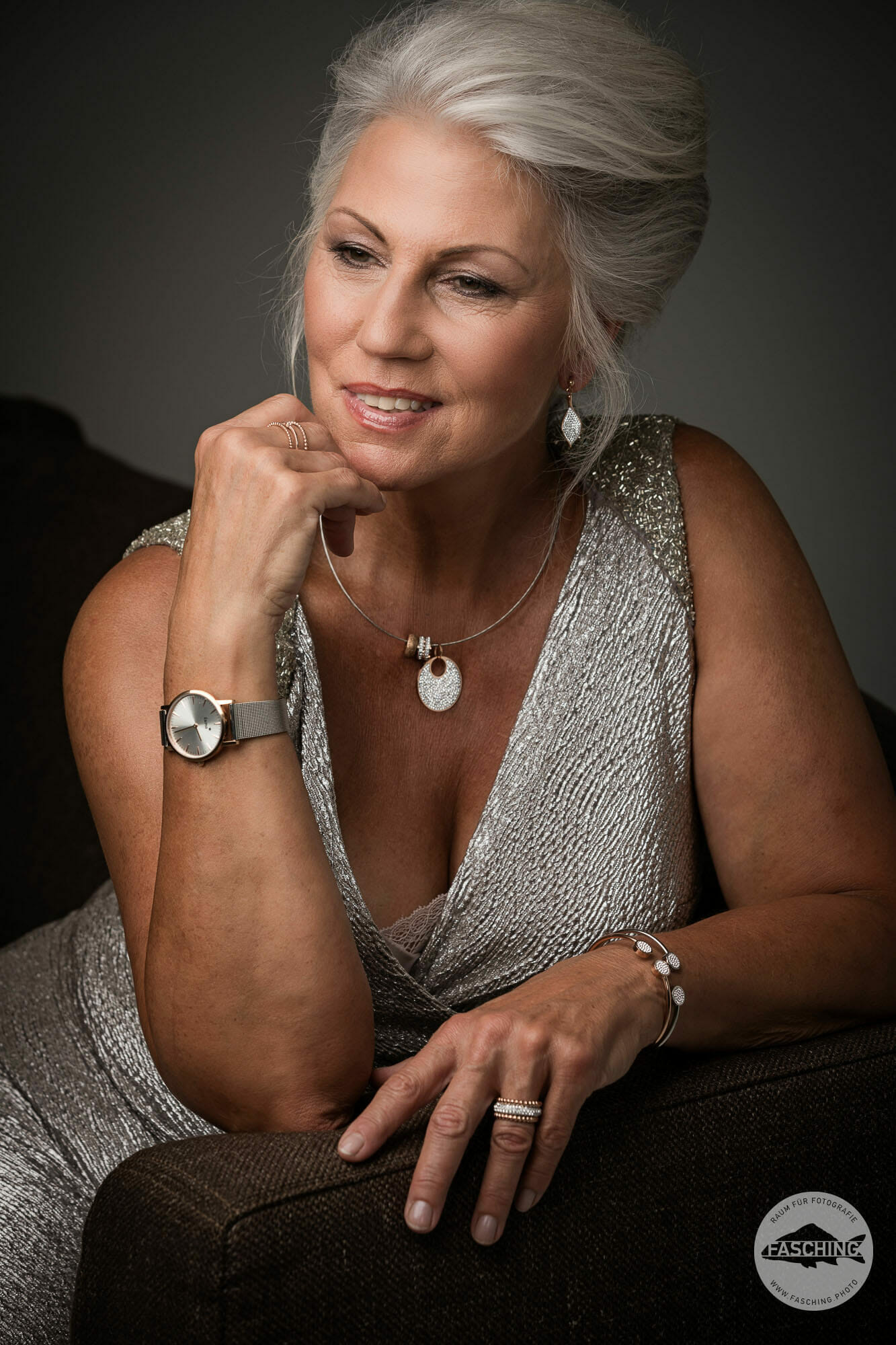 Lady with Jewellery, photo by Studio Fasching, Austria