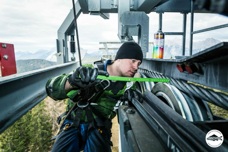 für das Industrieunternehmen Doppelmayr fotografierte Luca Fasching in ganz Österreich an verschiedensten Locations