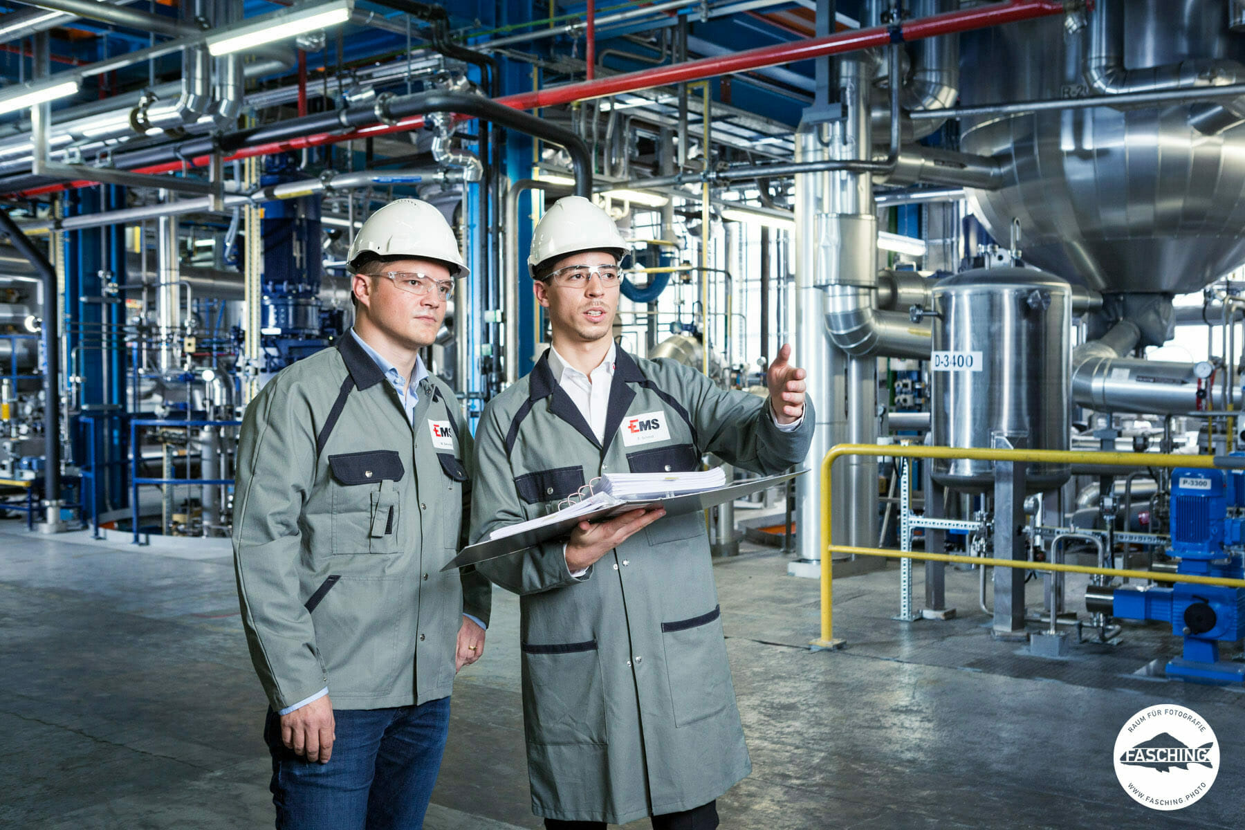 Industriefotografie für EMS - Chemie von Reinhard und Luca Fasching