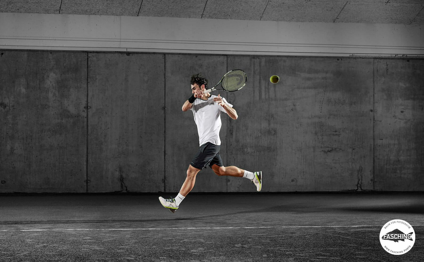 Modefotografie der Head Sportswear von Luca Fasching