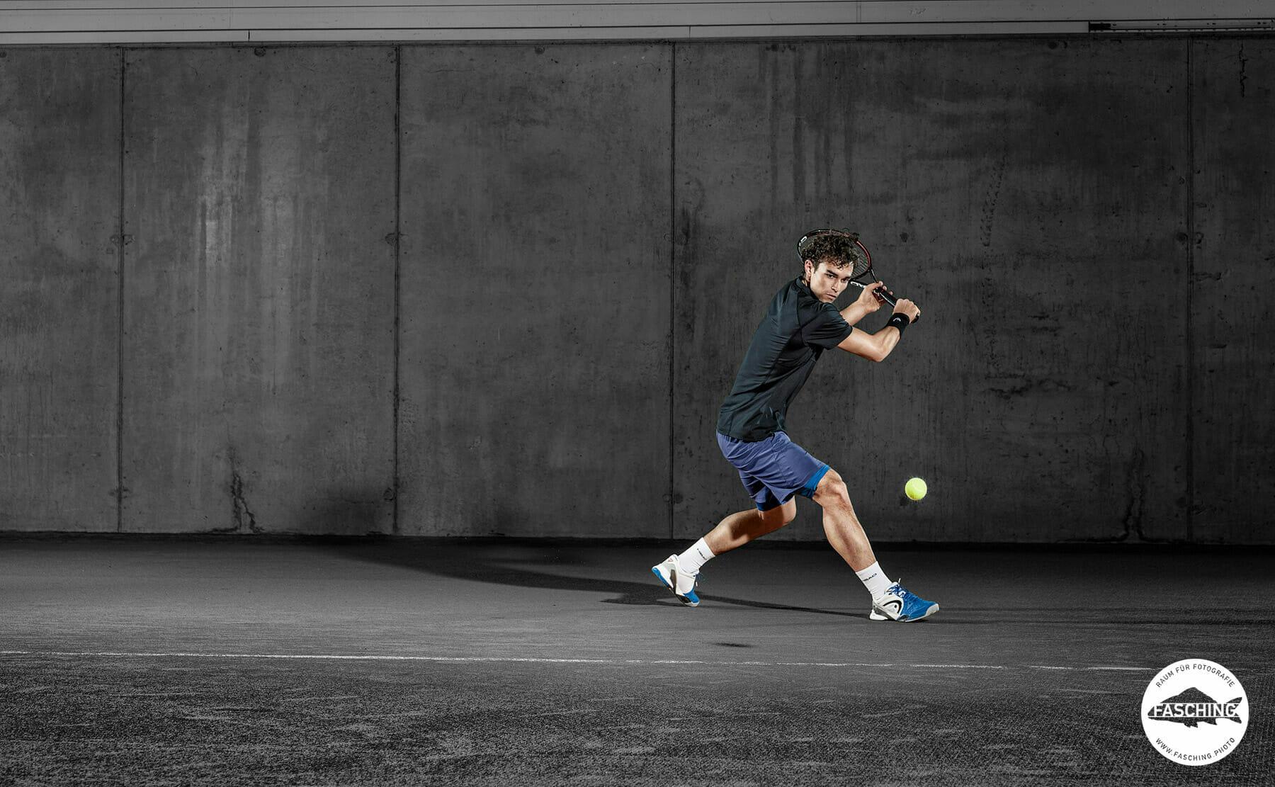 Luca Fasching fotografierte die Head Sportswear Sommer Kollektion