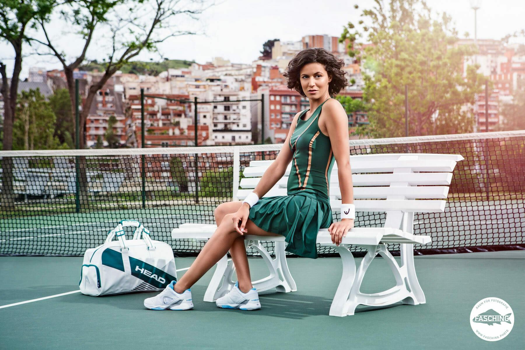 Sport und Modefotografie der Head Sportswear von Luca und Reinhard Fasching
