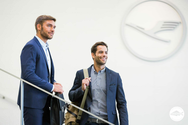 Die Vorarlberger Fotografen des Studio Fasching fotografieren für Lufthansa Seeheim