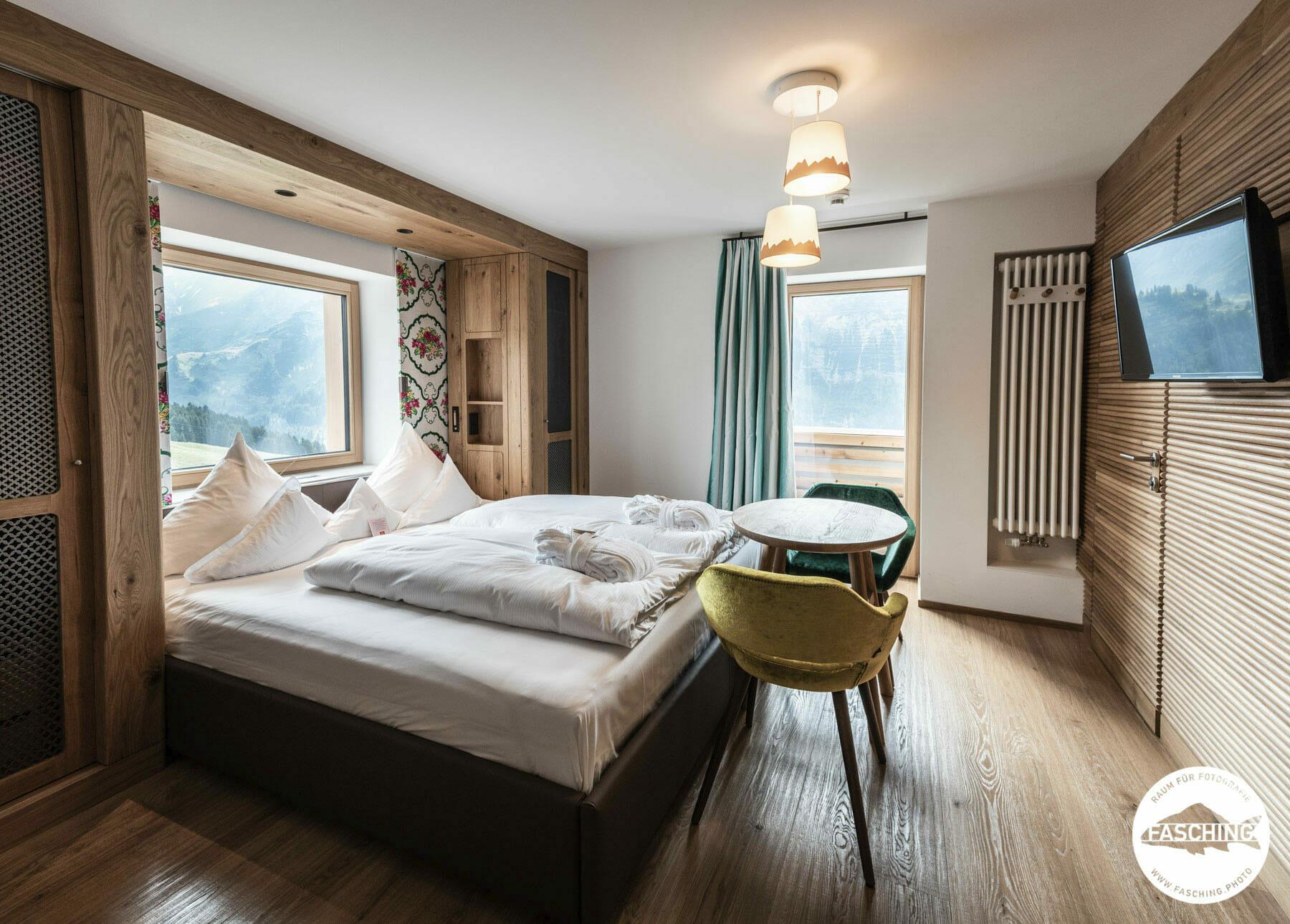 Luca Faschings Hotelfotografie für das Hotel Goldener Berg in Lech
