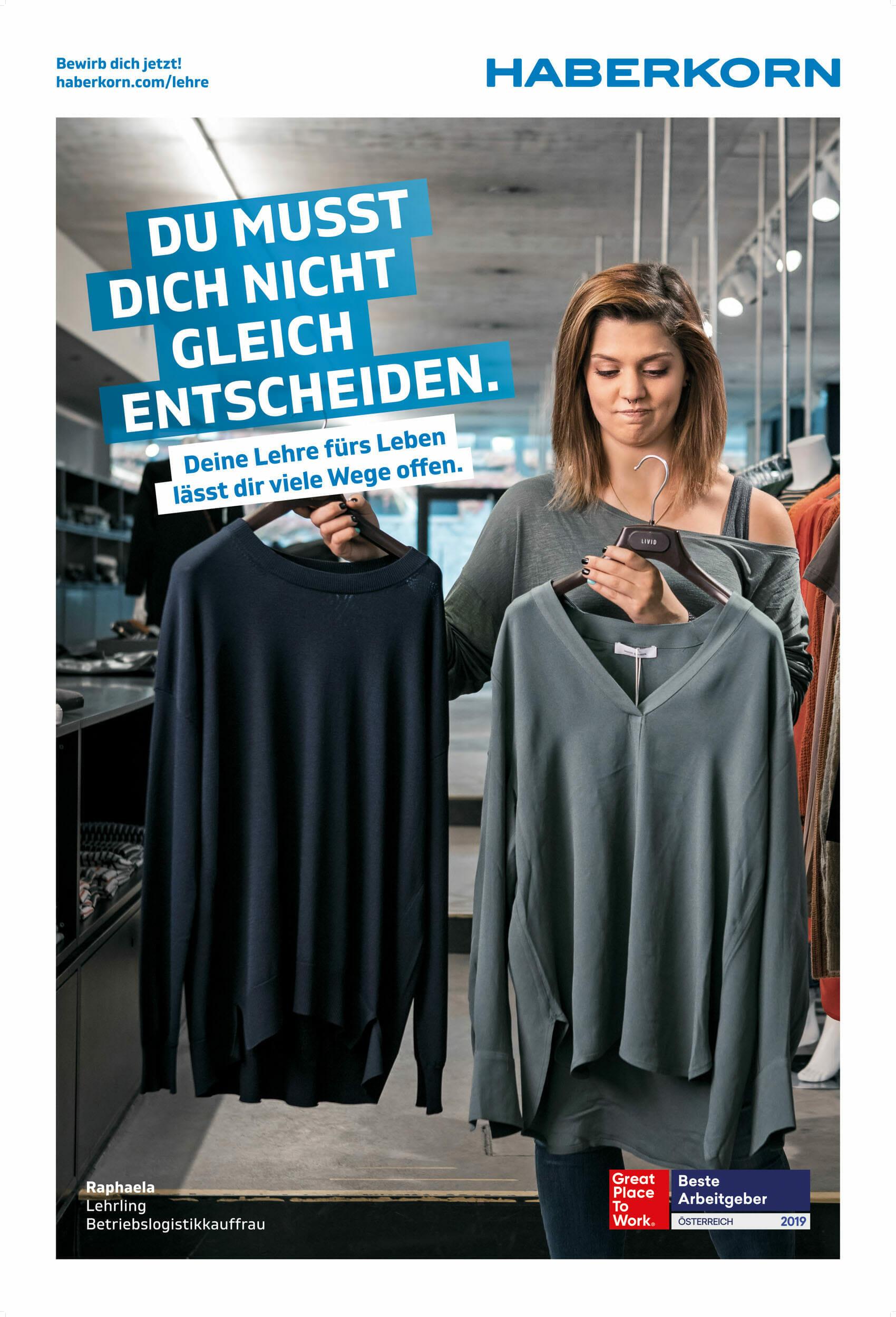 Lehrlingskampagne für Haberkorn Vorarlberg, Industriefotografie von Luca Fasching