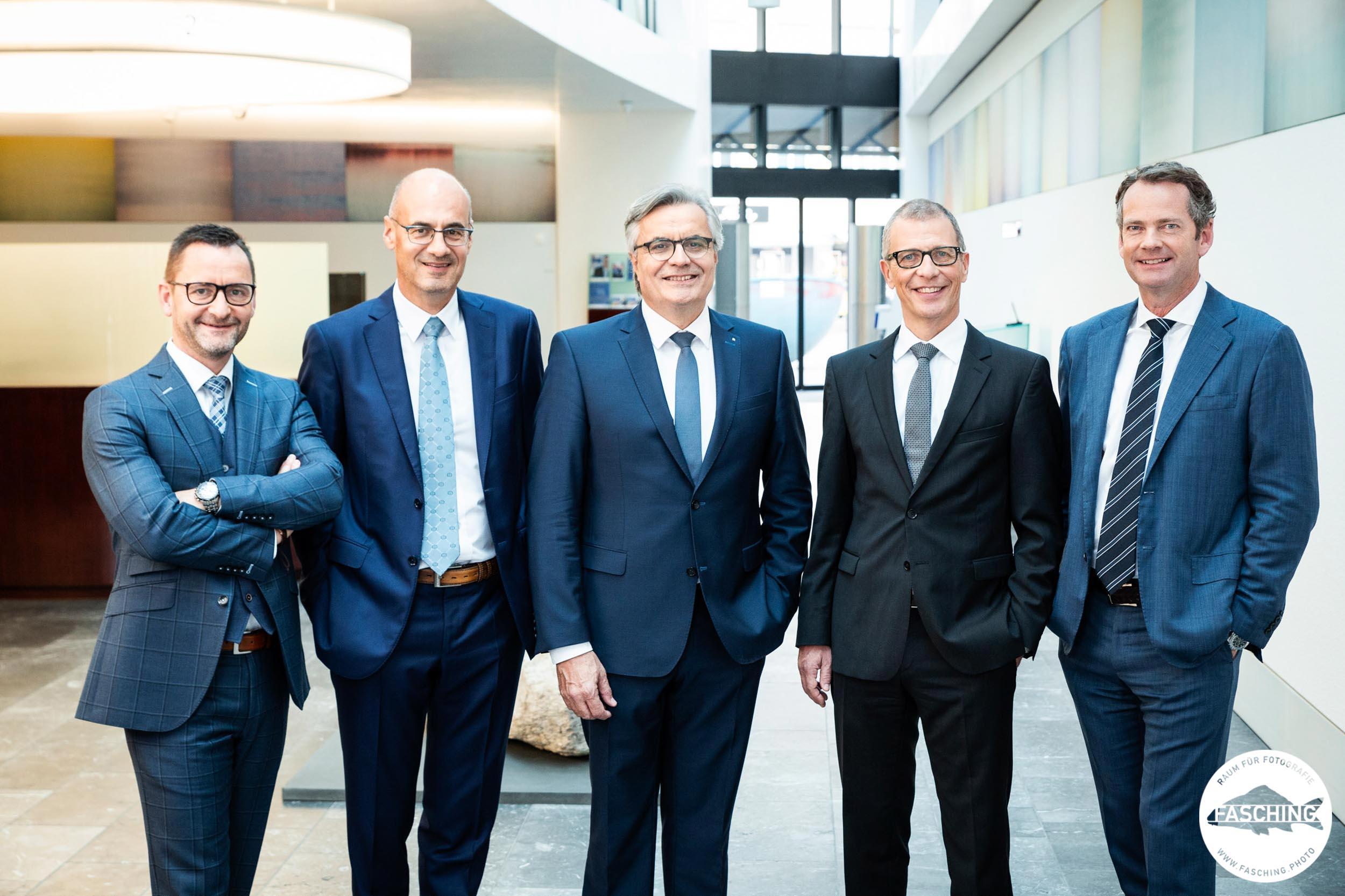 Businessportraits für den Jahresbericht der Graubündner Kantonalbank fotografiert von Reinhard Fasching