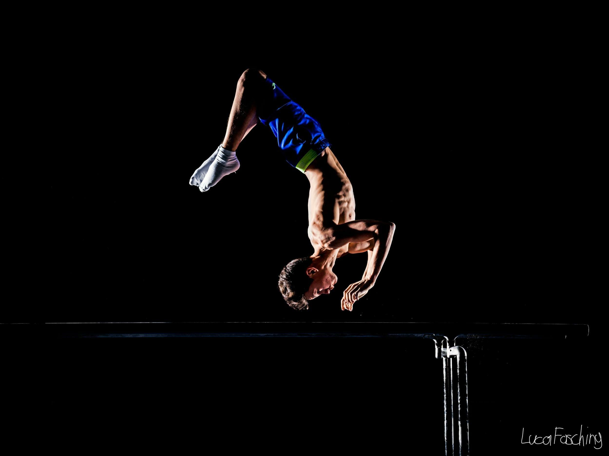 Sportfotograf Luca Fasching fotografierte dieses Bild