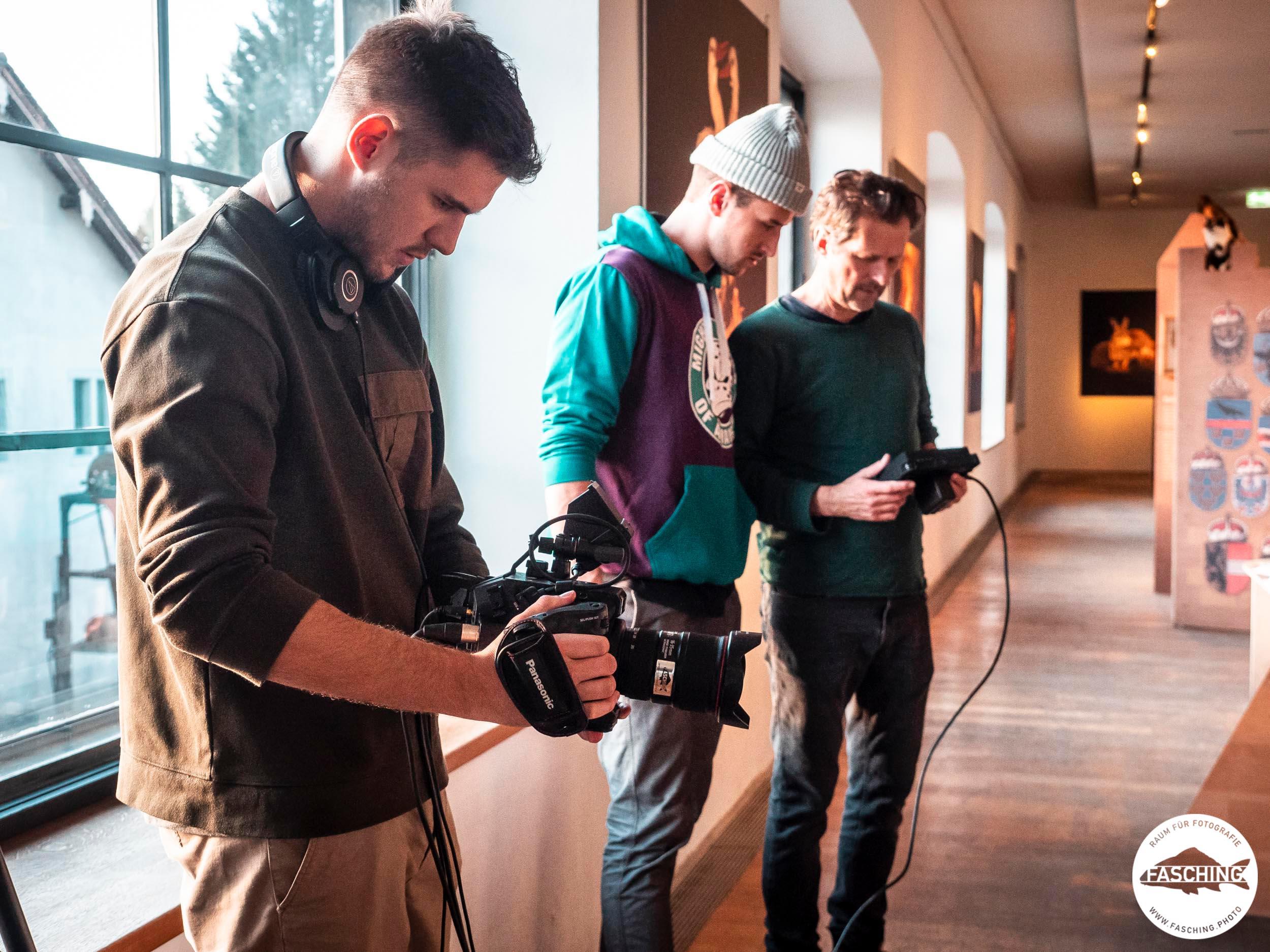 Filmaufnahmen für Videofilm 50000 in der Inatura in Dornbirn, Unternehmensfilm Fasching Bregenz