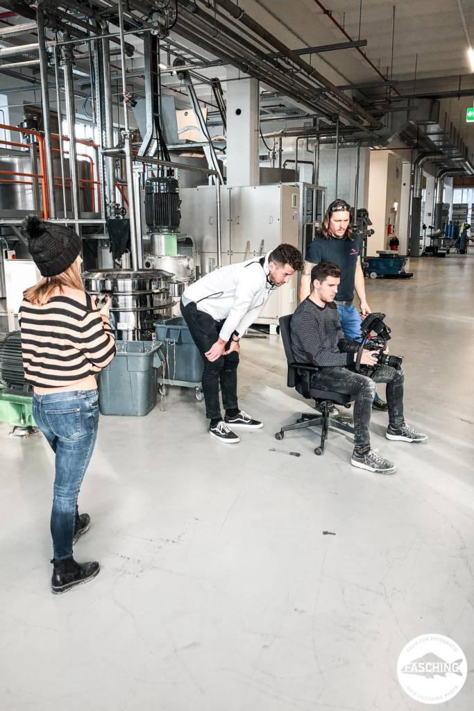 Dorfinstallateur Dreharbeiten für Unternehmensvideos von Studio Fasching in Vorarlberg