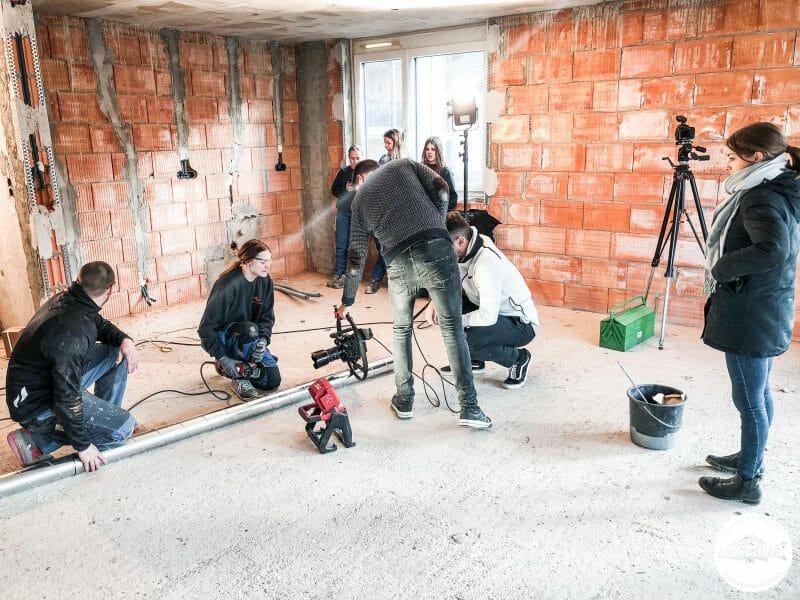 Unternehmensfilme in Vorarlberg für Dorfinstallateur vom Fotostudio Fasching in Bregenz
