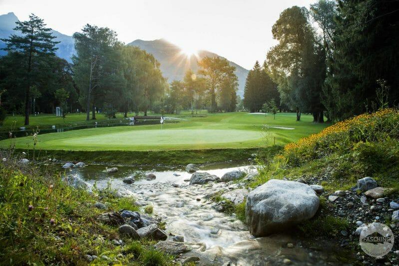 Golfplatzfotografie in Bad Ragaz, Fotograf Reinhard Fasching