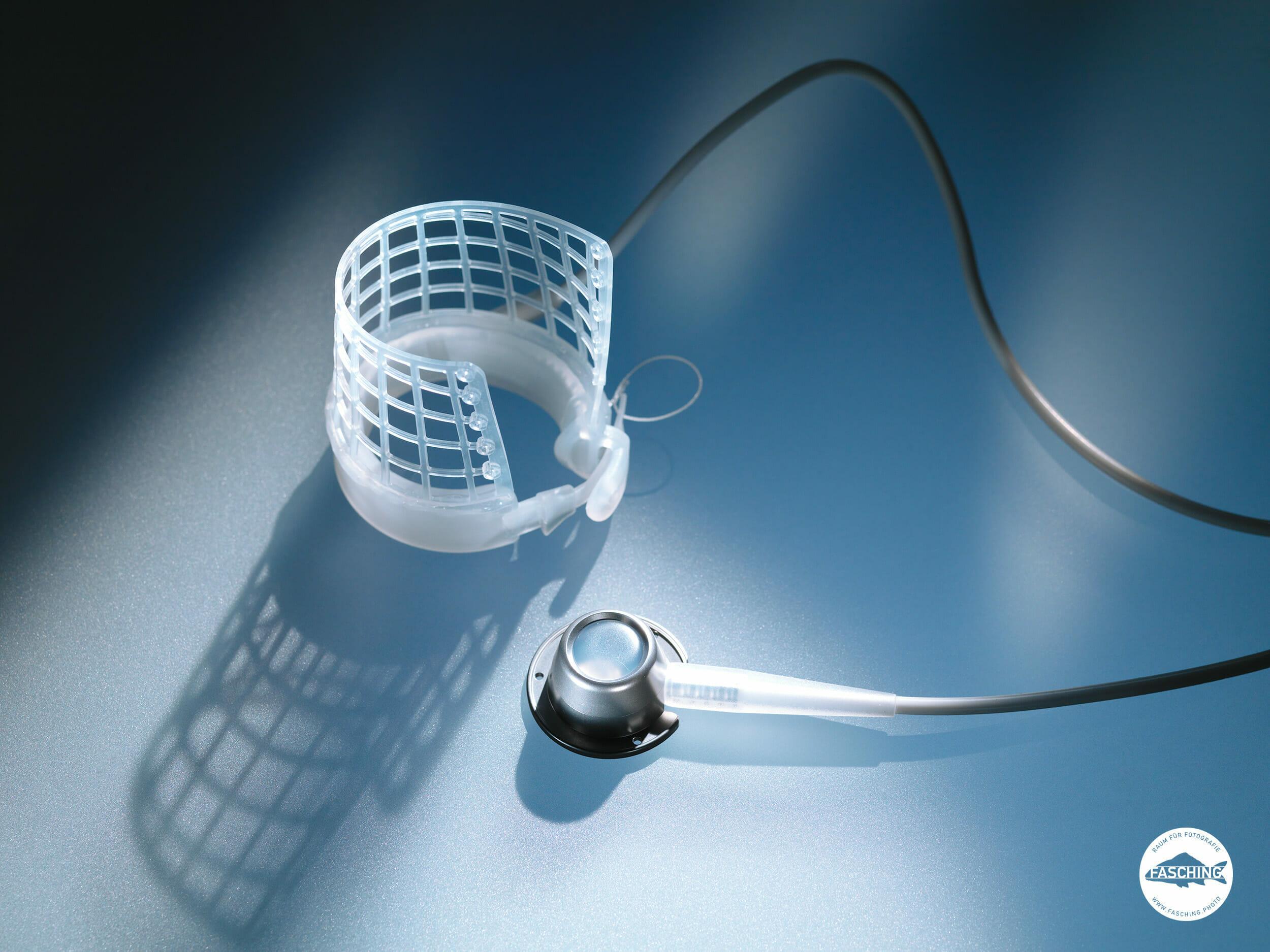 Basketband, Produktfotografie von Medizinprodukt